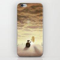 Robo-love iPhone & iPod Skin