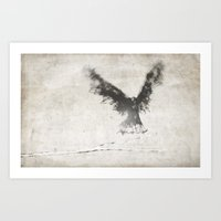trembling the birch Art Print
