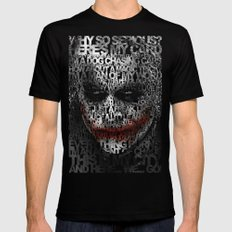 Halloween Psycopath Clow… Mens Fitted Tee Black SMALL