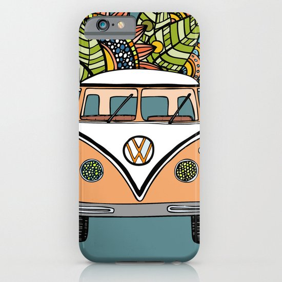 VW bus iPhone & iPod Case