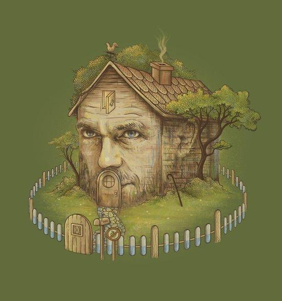 Dr. House Art Print