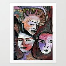 Amantes, ementes Art Print