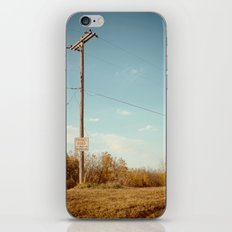 Roads and Lines Lead Can Lead Us to Somewhere New. iPhone & iPod Skin