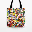 The Lego Movie Tote Bag