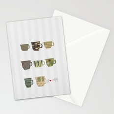 I {❤} Coffee Stationery Cards