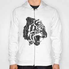 Wild (roar black and white) Hoody