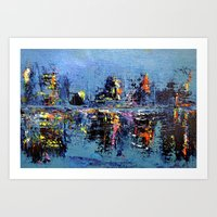 Night Brights Art Print