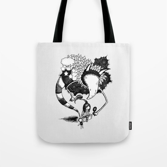Imaginary Fiend Tote Bag