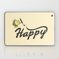 Bee Happy Laptop & iPad Skin