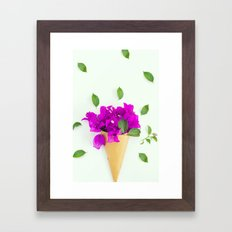 Flower photo 2 Framed Art Print