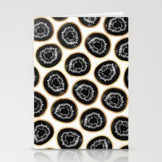 Black & Gold Kiwi Patter… Stationery Cards