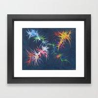 fireworks Framed Art Print
