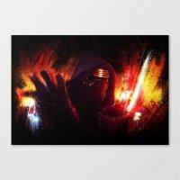K-R Canvas Print