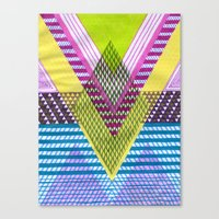 Isometric Harlequin #7 Canvas Print