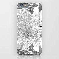 Charlotte Map iPhone 6 Slim Case
