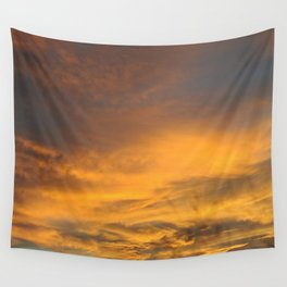 Wall Tapestry - COME AWAY WITH ME - Autumn Sunset #2 #art #society6 - Anita's & Bella's Art