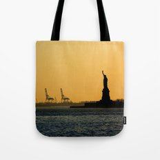 South Ferry Sunset Tote Bag