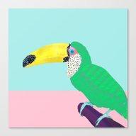 Chilling Toucan Canvas Print
