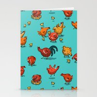 Chickens! Stationery Cards