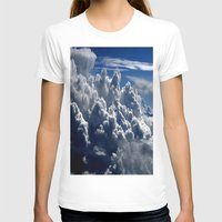 clouds T-shirts featuring clouds by  Agostino Lo Coco