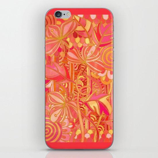 Drawn into the Garden iPhone & iPod Skin
