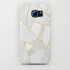 White Stone Galaxy S6 Slim Case