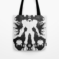 Samus Aran Metroid Geek Psychological Diagnosis Ink Blot  Tote Bag