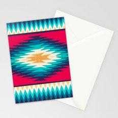 SURF GIRL CHEVRON Stationery Cards