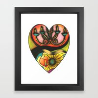 Happy Valentine's Day :) Framed Art Print