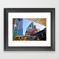 Abstract Architecture Framed Art Print
