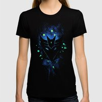 Grunge Transformers: Dec… Womens Fitted Tee Black SMALL
