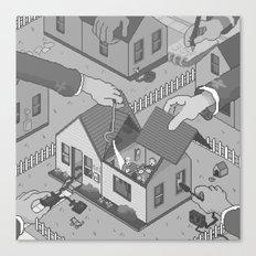 Surveillance Canvas Print
