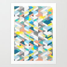 New Harlequin Art Print