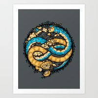 NEVERENDING WONDERLAND Art Print