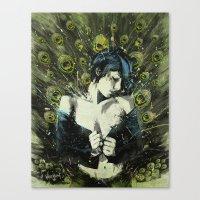 Black Pea Canvas Print