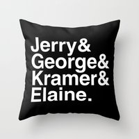 Seinfeld Jetset Throw Pillow