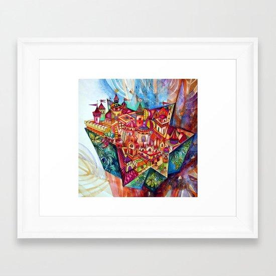 David Star magic talisman Framed Art Print