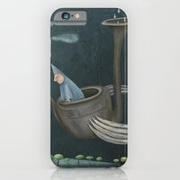 iPhone & iPod Case featuring The Flying Machine by Fizzyjinks