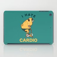 I Hate Cardio iPad Case