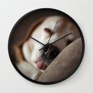 Sleepyhead Wall Clock