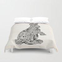 Rabbit2 Duvet Cover