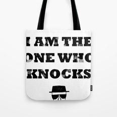 Heisenberg - The One Who Knocks Tote Bag