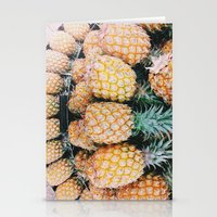 pineapple for days  Stationery Cards