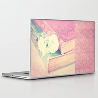 books Laptop & iPad Skins featuring BOOKS by VIAINA
