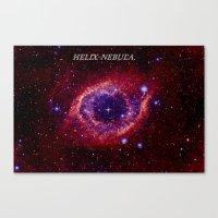 HELIX NEBULA. Canvas Print