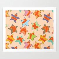 Star's Presents Art Print