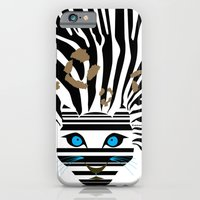 iPhone & iPod Case featuring Leopard Zebra crossover by CarmanPetite