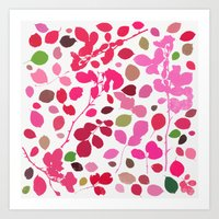 wildrose 3 Art Print