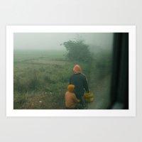 Road To Nepal Art Print