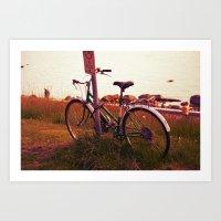 No Cycling  Art Print